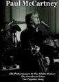 PAUL McCARTNEY with Friends / LIVE AT WHITE HOUSE  6-2-2010