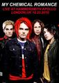MY CHEMICAL ROMANCE / LIVE IN LONDON 10-23-2010