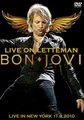 BON JOVI / LIVE ON LETTERMAN ,NEW YORK 11-9-2010