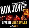BON JOVI / LIVE IN MOHEGAN SUN 3-4-2011