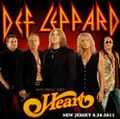 DEF LEPPARD & HEART / LIVE IN NEW JERSEY 6-26-2011