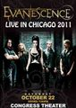 evanescence / live in chicago 10-22-2011
