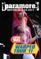 PARAMORE / LIVE IN MONTREAL 7-16-2011
