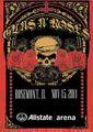 GUNS N' ROSES / LIVE IN ROSEMONT,IL 11-15-2011