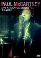 PAUL MCCARTNEY / LIVE AT CAPITOL STUDIO 2-9-2012