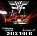 VAN HALEN / LIVE IN ROSEMONT,IL 4-1-2012