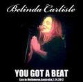 BELINDA CARLISLE / LIVE IN MELBOURNE 2-24-2012