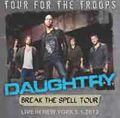DAUGHTRY / LIVE IN NEW YORK 5-1-2012