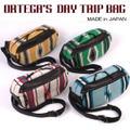 【4カラー】ORTEGA`S DAY TRIP BAG ショルダーバッグ ツーリング用バッグ アメリカの本物オルテガのブランケット使用