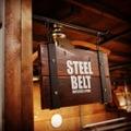 STEEL BELT スウィングサインプレート