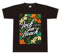 LOCK☆ON☆BEACH Tシャツ(BLACK)