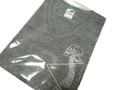 4DS Tシャツ Vネック グレー