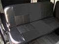 NV200クールブラックシートカバー単品 セカンドシート用(ベンチ)バン用 シートベルト付き