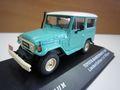 ランクル40 バンデランテ1967 グリーン/ホワイト 1/43 ダイキャスト製 新品