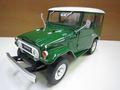 ランクル40 1967 グリーンバン 1/18 ダイキャスト製 新品 トリプル9