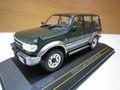 ランクル80 1992年後期型 グリーン/グレー 1/43 ダイキャスト製 新品