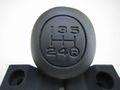 ランクル60用 5速シフトノブ ウレタン製 純正 新品