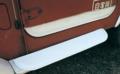 リブロック製 ランクル40 FRPドア下板金キット外側 新品