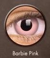 ベタピンクコン【Crazy Lens Barbie Pink】コスプレ専用カラコン2枚セット