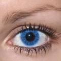 ふちなし単色 ColourVUE BASIC【BLUE】青色 2枚組 度なし