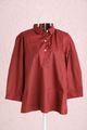 チェックシャツ赤✕黒