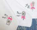 刺繍コラージュのハンカチ製作