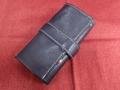 イタリア製ポータブル時計ケース 6本用 紺色 6-8