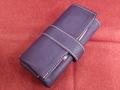 イタリア製ポータブル時計ケース 6本用 紫 6-3