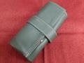 イタリア製ポータブル時計ケース 5本用(懐中時計対応) グリーン5-4