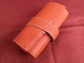 イタリア製ポータブル時計ケース 6本用 オレンジ