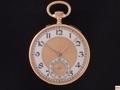 AT-11 ルロア 懐中時計 エナメル文字板 K18YG