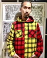 【送料無料】INTERFACE HOODED CHECK SH