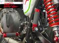 Triumph Scrambler & Bonneville 用レーシングフットペグ(タンデムペグ使用可)Cod. 306200S/R/K
