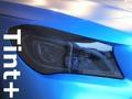 Tint+ メルセデスベンツ CLAクラス X117 シューティングブレーク ヘッドライト(Type1:フルスモークタイプ) 用