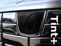 Tint+ トヨタ アルファード 30系 前期 レーダーブレーキなし フロントエンブレム 用 ★ブラックスモーク