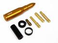 アンテナ バレット/弾丸型 ゴールド