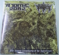 Atomic Roar / Alcoholic Force - The Atomic Drunkards of the Apocalypse! split 7'EP