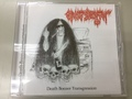 Christ's Death - Death Boozer Transgression CD