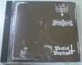 War Pestilence / Rebirth in Flames - Bestial Baptism Split CD