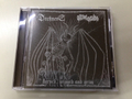 Darkness / Oltretomba - Horned, Winged and Grim CD