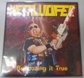 Metalucifer -  Bulldozing it true LP(マーブル盤)+DVD