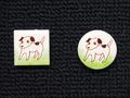 手描きモザイクタイル 犬6