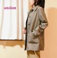 【キット】千鳥コーデュロイで作るライト・ステンカラーコート