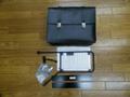 【セール品】モトグッチV7用レザーサイドバッグ【ブラック】&サイドバッグ用フレーム、セット