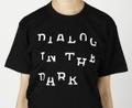 DIALOG IN THE DARK Tシャツ (黒×白)