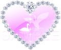 No.157 ダイヤモンドと白鳥