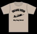 【WEB SHOP限定/受注生産】T-SHIRTS(ZERO FIGHTER)[LIGHT BEIGE]