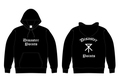 【受注生産】THE DISASTER POINTS/PULL OVER HOODIE(Osaka City Emblem)[BLACK]