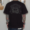 【WEB SHOP限定/受注生産】T-SHIRTS(DISASTER POINTS×LOWRANK Wネーム/2011年版)[BLACK]