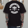 【受注生産】T-SHIRTS(DISASTER POINTS×LOWRANK Wネーム/2013年版)[BLACK]